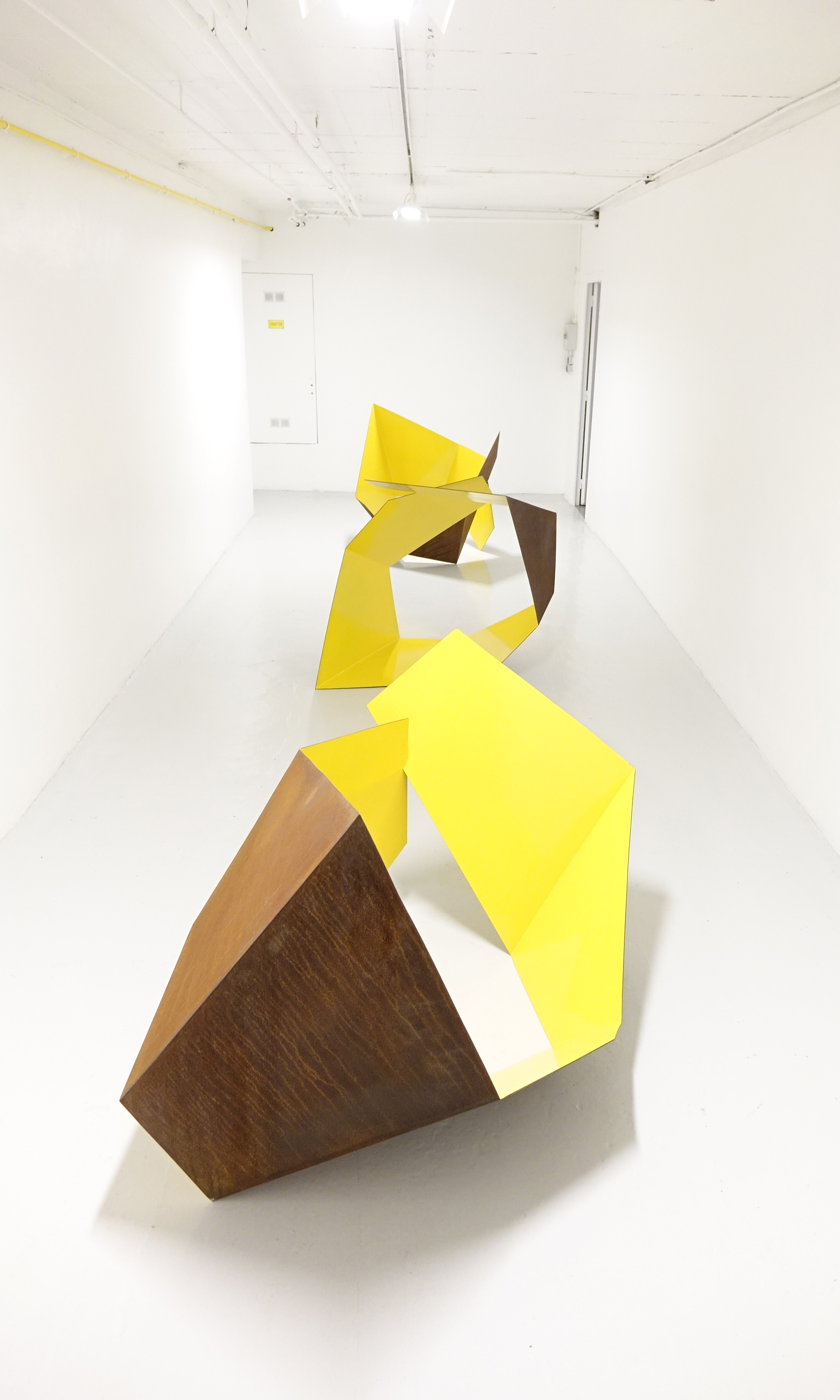 sculpture acier Corten Guillaume Castel