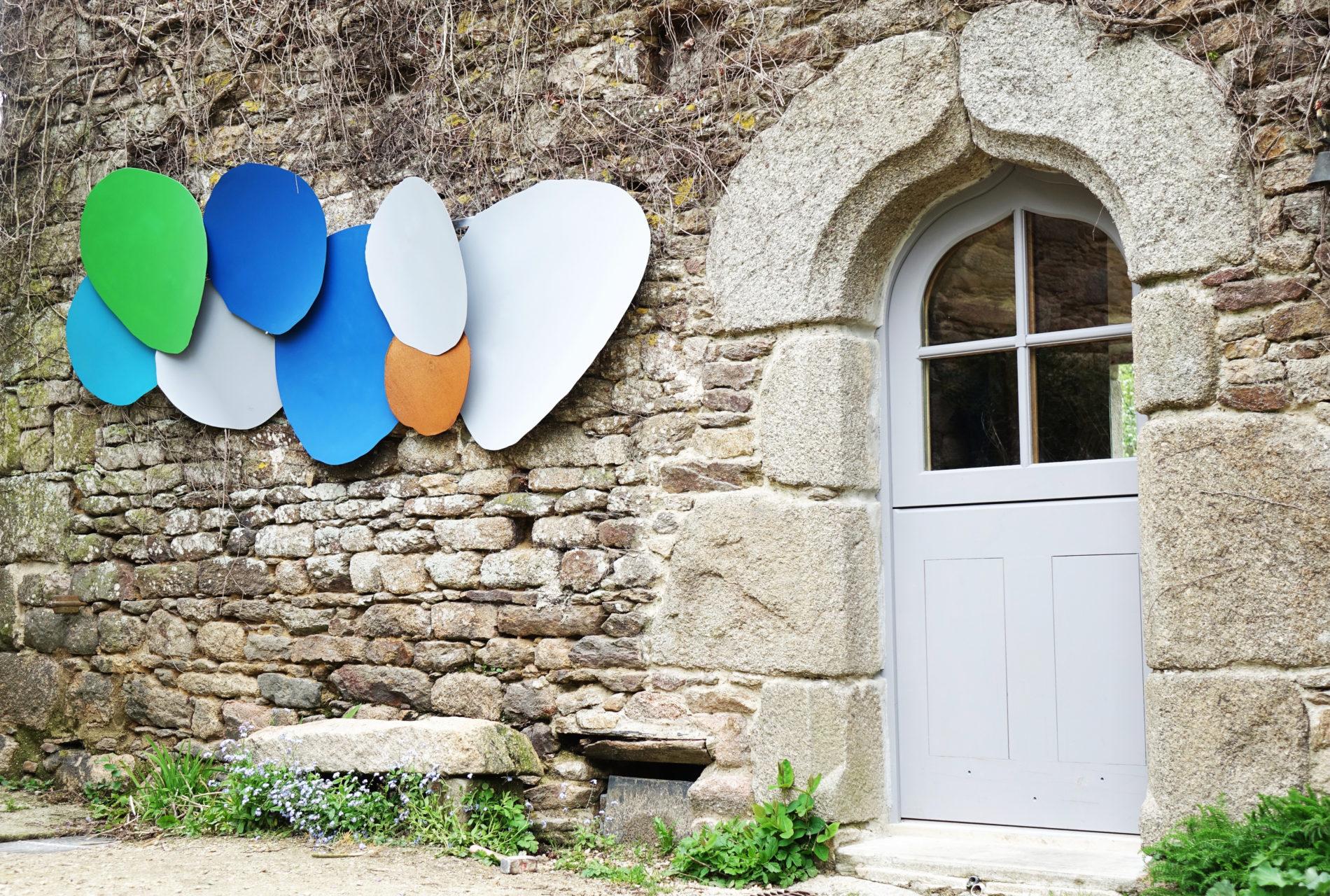 Acier corten sculptures Bretagne Castel