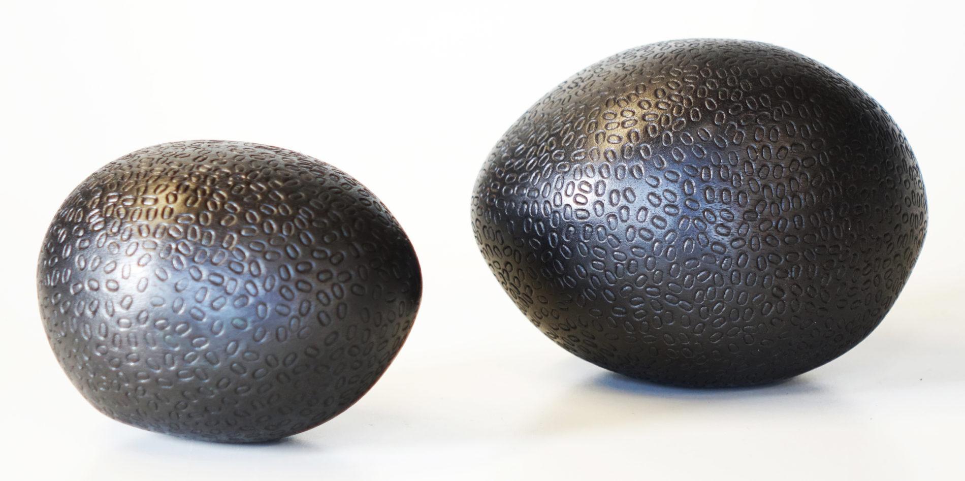 graine de sculpture en pommier carbonisee