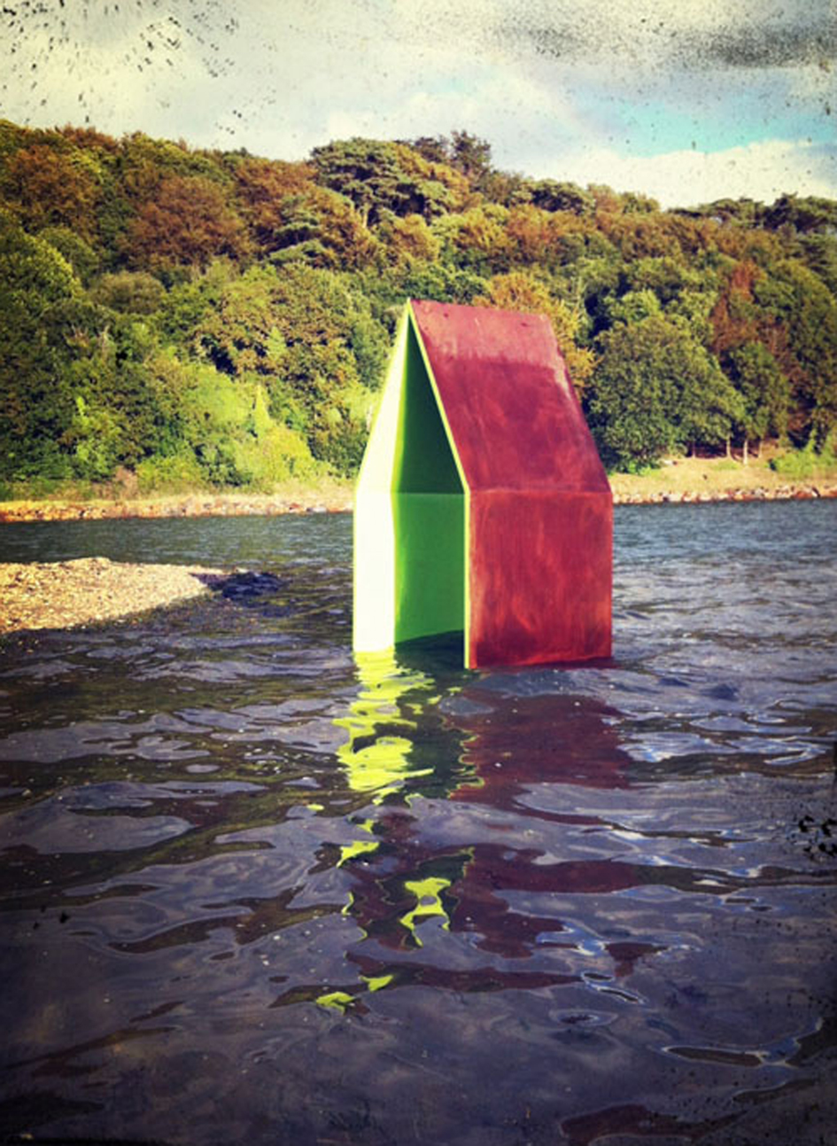 Sculpture baie de Morlaix Maison architecture