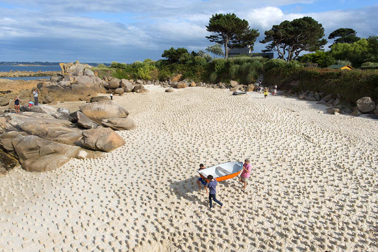 pâtés de sable Guillaume Castel Bretagne