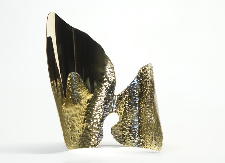 organique acier bretagne sculpteur poli